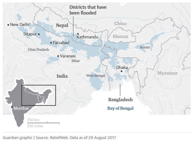 South Asia floods 2017